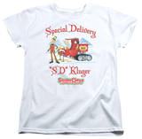 Womans: Santa Claus Is Comin To Town - Kluger T-shirts
