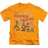 Juvenile: Power Rangers - Morphin Time Shirt