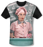 Youth: I Love Lucy - Chocolate Belt(black back) T-shirts