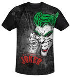 Youth: Batman - Joker Sprays The City(black back) T-Shirt