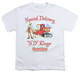 Youth: Santa Claus Is Comin To Town - Kluger T-shirts