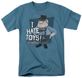 Santa Claus Is Comin To Town - I Hate Toys T-shirts