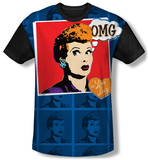 Youth: I Love Lucy - OMG(black back) T-shirts