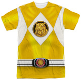 Power Rangers - Yellow Ranger Emblem Shirts