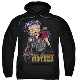 Hoodie: Betty Boop - Not Your Average Mother Pullover Hoodie
