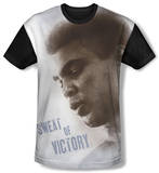 Youth: Muhammad Ali - Sweat Of Victory(black back) T-shirts