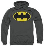 Hoodie: Batman - Classic Bat Logo Pullover Hoodie