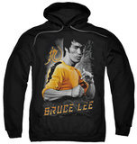 Hoodie: Bruce Lee - Yellow Dragon Pullover Hoodie