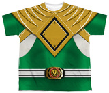Youth: Power Rangers - Green Ranger Shirts