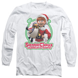 Long Sleeve: Santa Claus Is Comin To Town - Penguin T-shirts