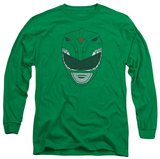 Long Sleeve: Power Rangers - Green Ranger T-Shirt