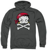 Hoodie: Betty Boop - Pirate Pullover Hoodie