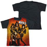 Youth: KISS - Fire Pose(black back) T-shirts