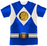 Power Rangers - Blue Ranger Emblem Shirts