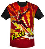 Youth: The Flash - Lightning Fast(black back) T-shirts