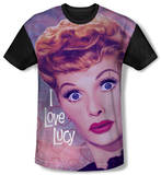 Youth: I Love Lucy - Funny Hearts(black back) T-shirts