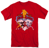 Power Rangers - Retro Rangers Shirt