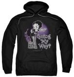 Hoodie: Betty Boop - My Way Pullover Hoodie