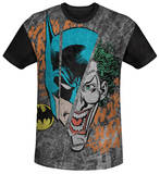 Youth: Batman - Broken Visage(black back) Shirts