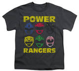 Youth: Power Rangers - Ranger Heads T-Shirt
