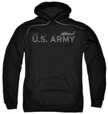 Hoodie: Army - Helicopter Pullover Hoodie