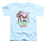 Toddler: Santa Claus Is Comin To Town - Kringle To Claus T-shirts