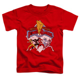 Toddler: Power Rangers - Retro Rangers Shirts