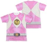 Power Rangers - Pink Ranger Emblem (Front/Back Print) T-shirts