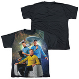 Youth: Star Trek - Kirk Spock Mccoy(black back) Shirts