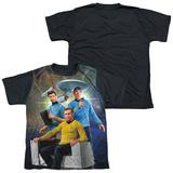 Youth: Star Trek - Kirk Spock Mccoy(black back) Shirts