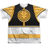 Youth: Power Rangers - White Ranger Shirt