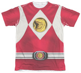 Power Rangers - Red Ranger Emblem Shirts