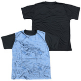 Youth: Star Trek - Blue Print(black back) Shirt