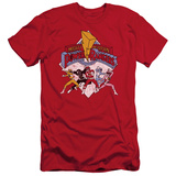 Power Rangers - Retro Rangers (slim fit) T-Shirt