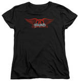 Womens: Aerosmith - Winged Logo T-Shirt