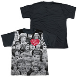 Youth: I Love Lucy - Faces(black back) T-Shirt