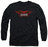 Long Sleeve: Aerosmith - Winged Logo Camisetas