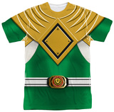Power Rangers - Green Ranger Shirt