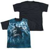 Youth: Batman - Stormy Knight(black back) T-Shirt