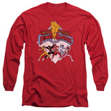 Long Sleeve: Power Rangers - Retro Rangers Long Sleeves