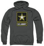 Hoodie: Army - Logo Pullover Hoodie
