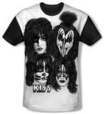 Youth: KISS - Heads Sub(black back) Shirts