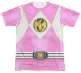 Power Rangers - Pink Ranger Emblem Sublimated