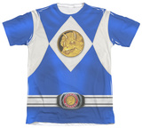 Power Rangers - Blue Ranger Emblem Sublimated