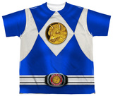 Youth: Power Rangers - Blue Ranger Emblem T-Shirt