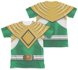 Power Rangers - Green Ranger (Front/Back Print) T-Shirt