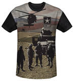 Youth: Army - Values(black back) Shirts