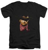 John Wayne - Splatter V-Neck T-Shirt