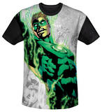 Youth: Green Lantern - Light Em Up(black back) T-shirts