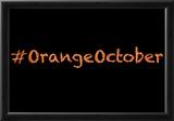 Orange October Prints